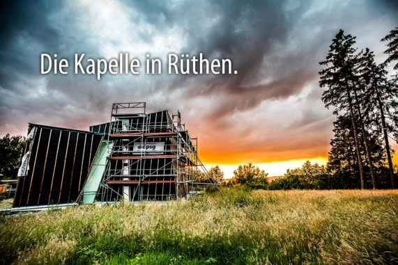 Die Kapelle in Rüthen